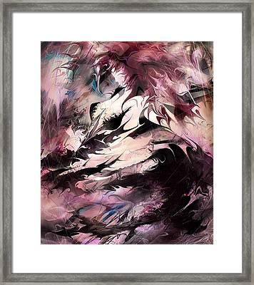 Dancing The Black Dress Framed Print by Rachel Christine Nowicki