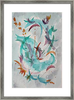 Dancing The New Year In Framed Print by Asha Carolyn Young
