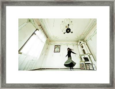 Dancing Time Framed Print