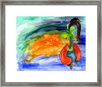 Dancing Tree Of Life Framed Print