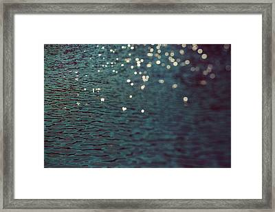 Dancing Water Framed Print by Kim Fearheiley