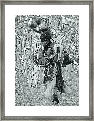 Dancing With Ancestors Silver Screen Framed Print by Scarlett Images Photography