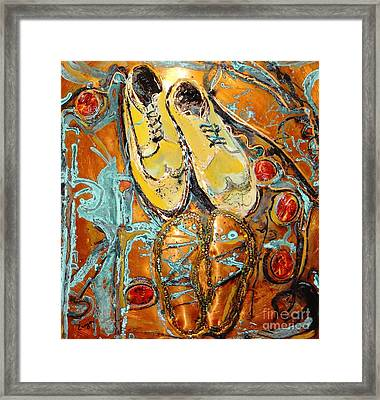 Dancing With Daddy Framed Print