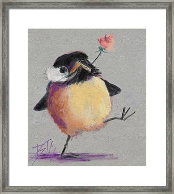 Dancing With Joy Framed Print by Billie Colson