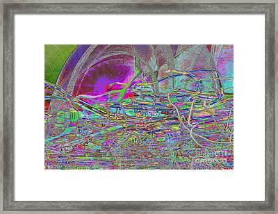 Dancing With Lights Framed Print