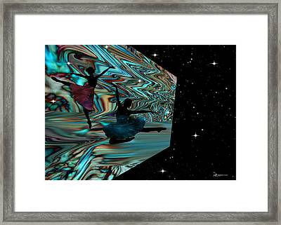 Dancing With The Stars-featured In Harmony And Happiness Group Framed Print by EricaMaxine  Price
