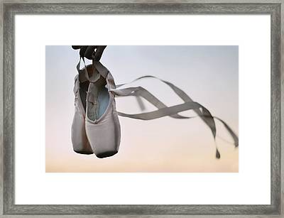 Dancing With The Wind Framed Print by Laura Fasulo