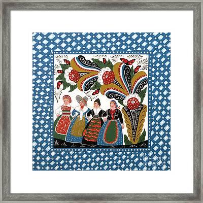Dancing Women Framed Print by Leif Sodergren