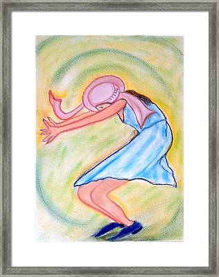 Dancy Nancy Framed Print