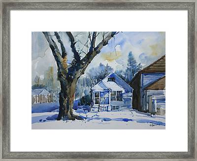 Danforth_1 Framed Print