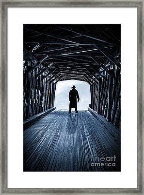 Danger Ahead Framed Print by Edward Fielding