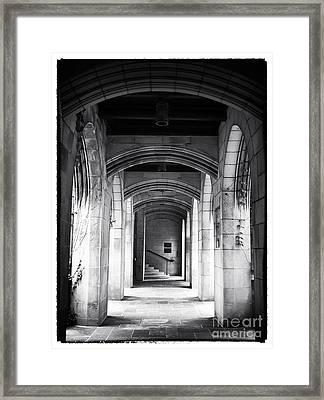 Danger Ahead Framed Print by John Rizzuto