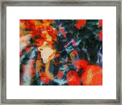 Framed Print featuring the painting Dangerous Passion by Joe Misrasi