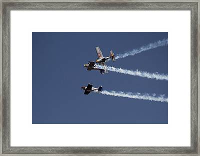 Framed Print featuring the photograph Dangerously Close Encounter by Ramabhadran Thirupattur