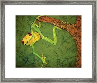 Dangler Framed Print