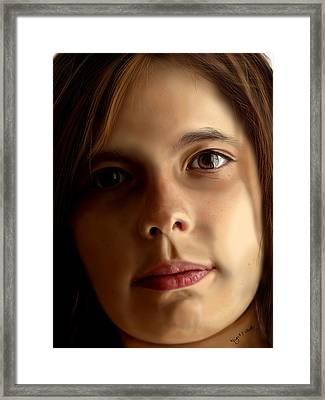 Dani Framed Print