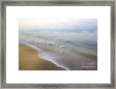 Dania Beach Framed Print by Glennis Siverson