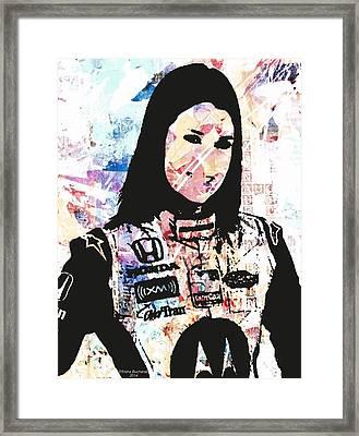 Danica 10 Framed Print by Trisha Buchanan