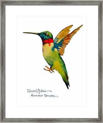 Da166 Hummer Dreams Daniel Adams Framed Print