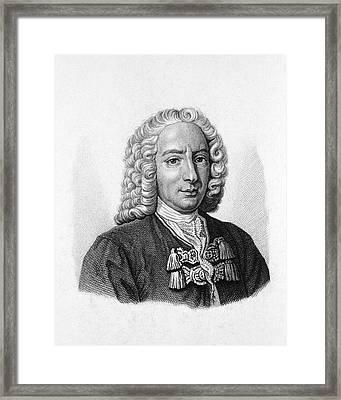 Daniel Bernoulli Framed Print by National Library Of Medicine
