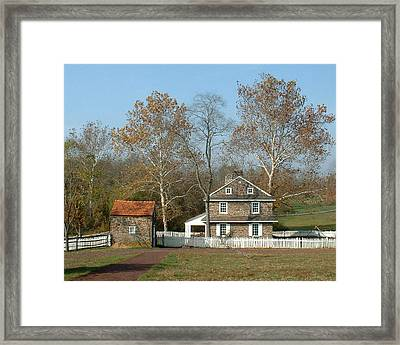Daniel Boone Homestead Framed Print