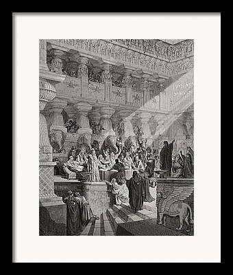 Biblical Interpretation Framed Prints