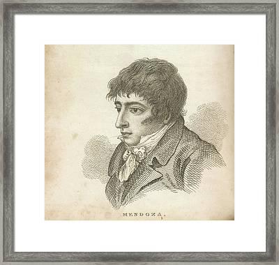 Daniel Mendoza Framed Print by British Library