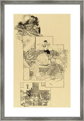 Daniel Vierge, On The Trail Of Don Quixote Framed Print by Quint Lox