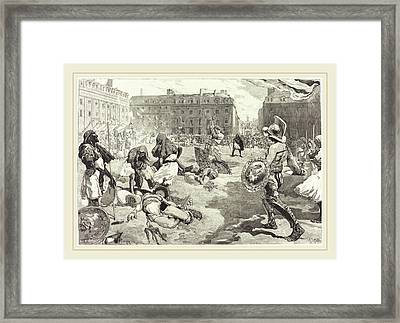 Daniel Vierge Spanish, 1851-1904 Framed Print by Litz Collection