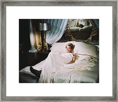 Daniela Bianchi In From Russia With Love  Framed Print by Silver Screen