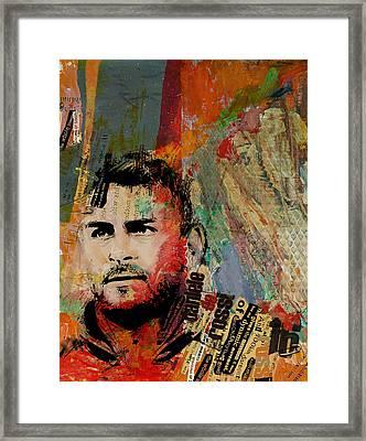 Daniele Di Rossi - B Framed Print by Corporate Art Task Force