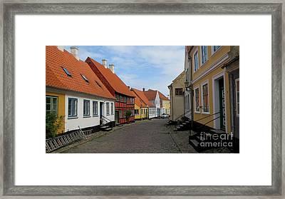 Danish Village Framed Print