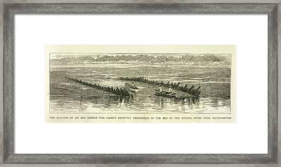 Danish War Galley Framed Print by British Library