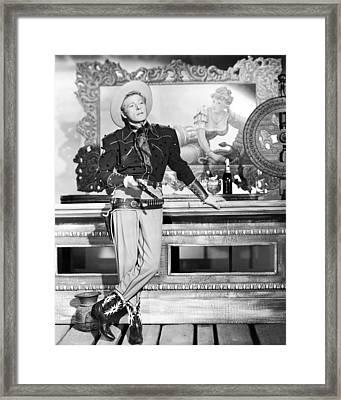 Danny Kaye Framed Print by Silver Screen