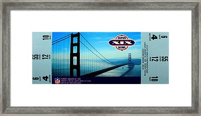 Dan's Chance Framed Print by Benjamin Yeager