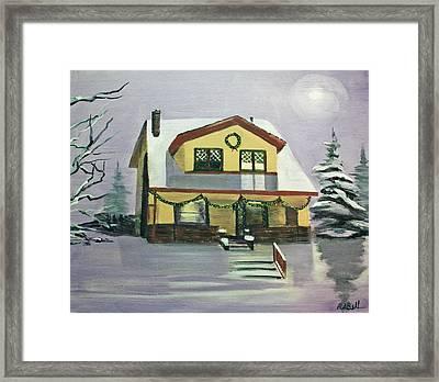 Dan's House Framed Print by Randy Bell