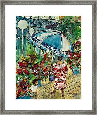 Dans La Matinee Framed Print by Elaine Elliott