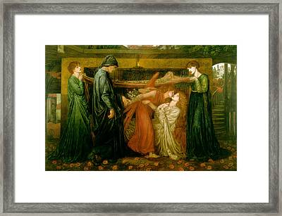 Dantes Dream At The Time Of The Death Of Beatrice 1856 Framed Print by Philip Ralley