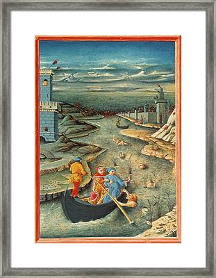 Dante's Inferno Styx Framed Print