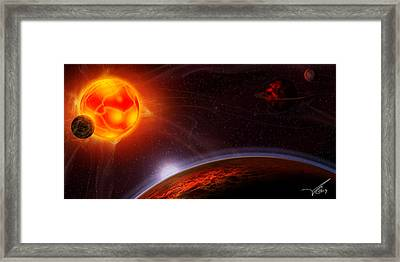 Dante's Symphony Framed Print by Anthony Citro