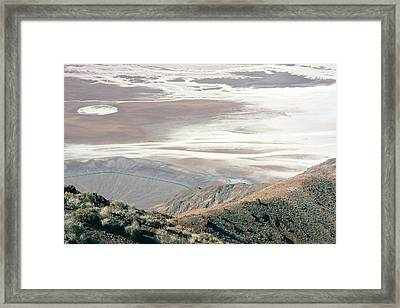 Framed Print featuring the photograph Dante's View #1 by Stuart Litoff