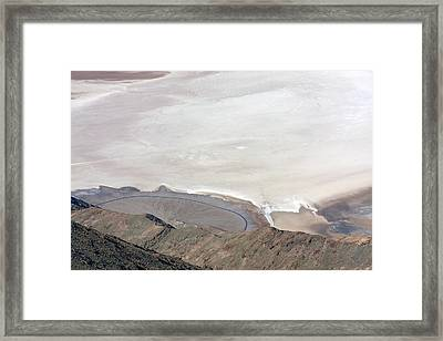 Framed Print featuring the photograph Dante's View #2 by Stuart Litoff