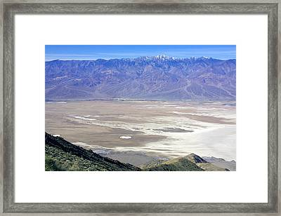 Framed Print featuring the photograph Dante's View #4 by Stuart Litoff