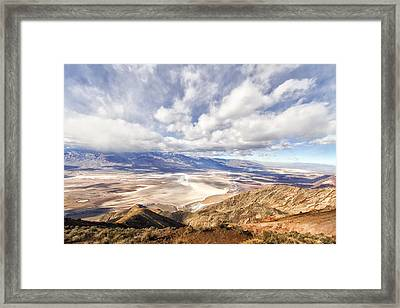 Dante's View Framed Print