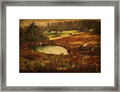 Danville Pike Farm Framed Print