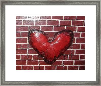Daphnes Heart Framed Print by Steve  Hester