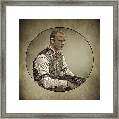 Dapper Dan Framed Print by Priscilla Burgers