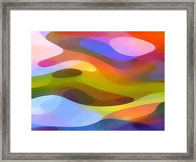 Dappled Light 10 Framed Print by Amy Vangsgard