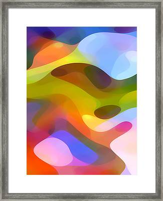 Dappled Light 5 Framed Print by Amy Vangsgard