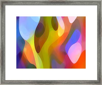 Dappled Light 7 Framed Print